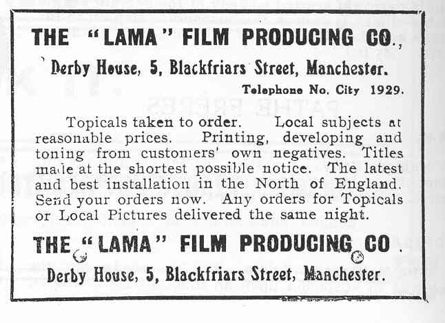 A Listing of British Motion Picture Labs